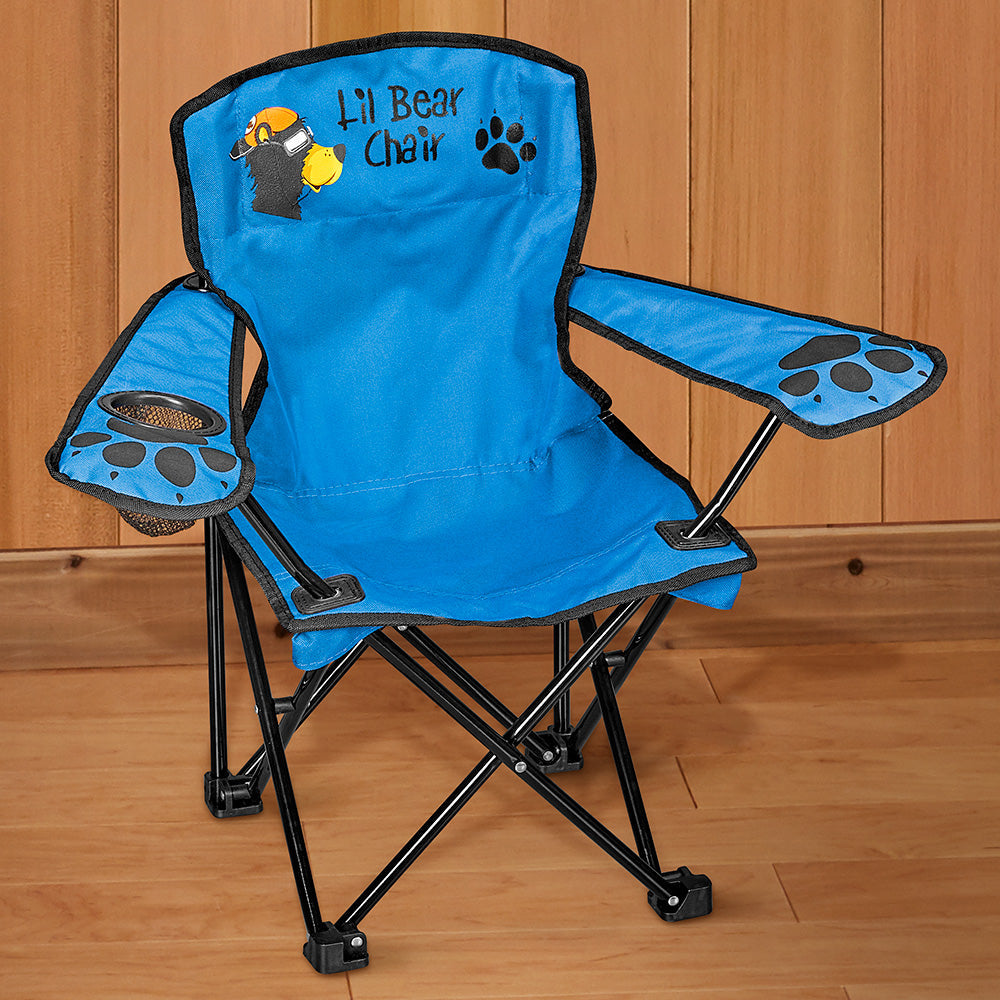 Wilcor Children's Folding Camp Chair, Lil Bear