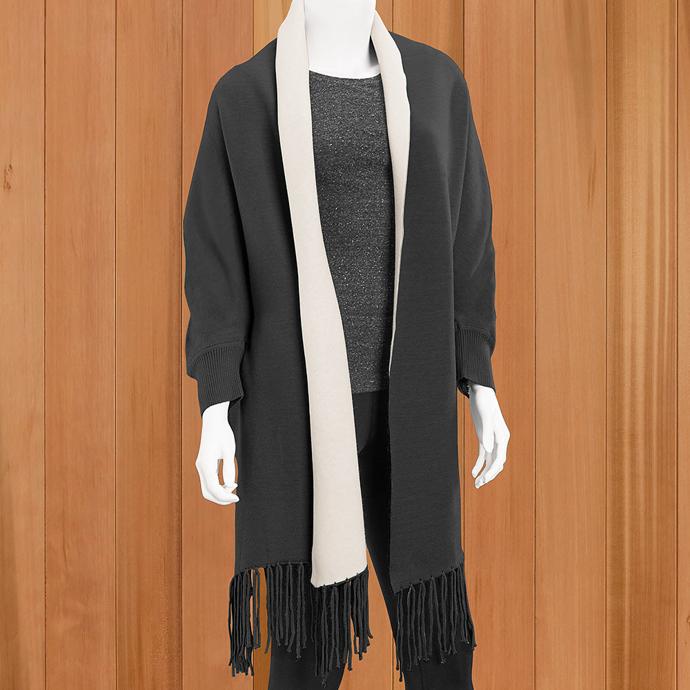 Mer-Sea Women's 2-in-1 Reversible Wrap and Scarf
