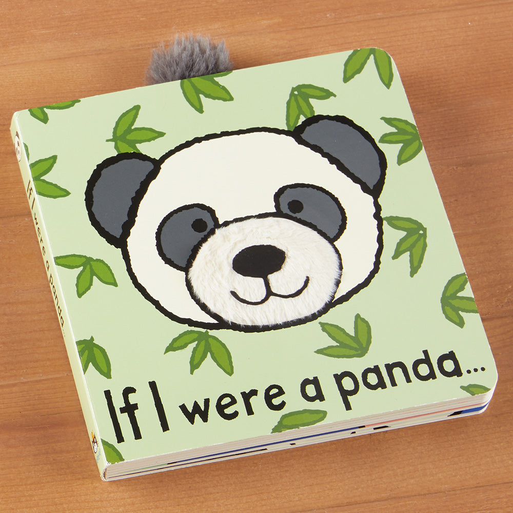 """If I Were a Panda"" Children's Book by Jellycat"