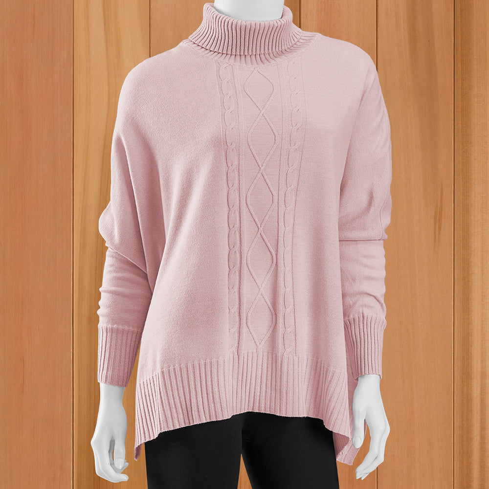 Mer-Sea Aberdeen Cable Front Traveler Sweater