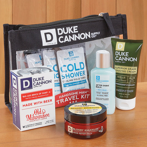 Duke Cannon Handsome Man Travel Kit
