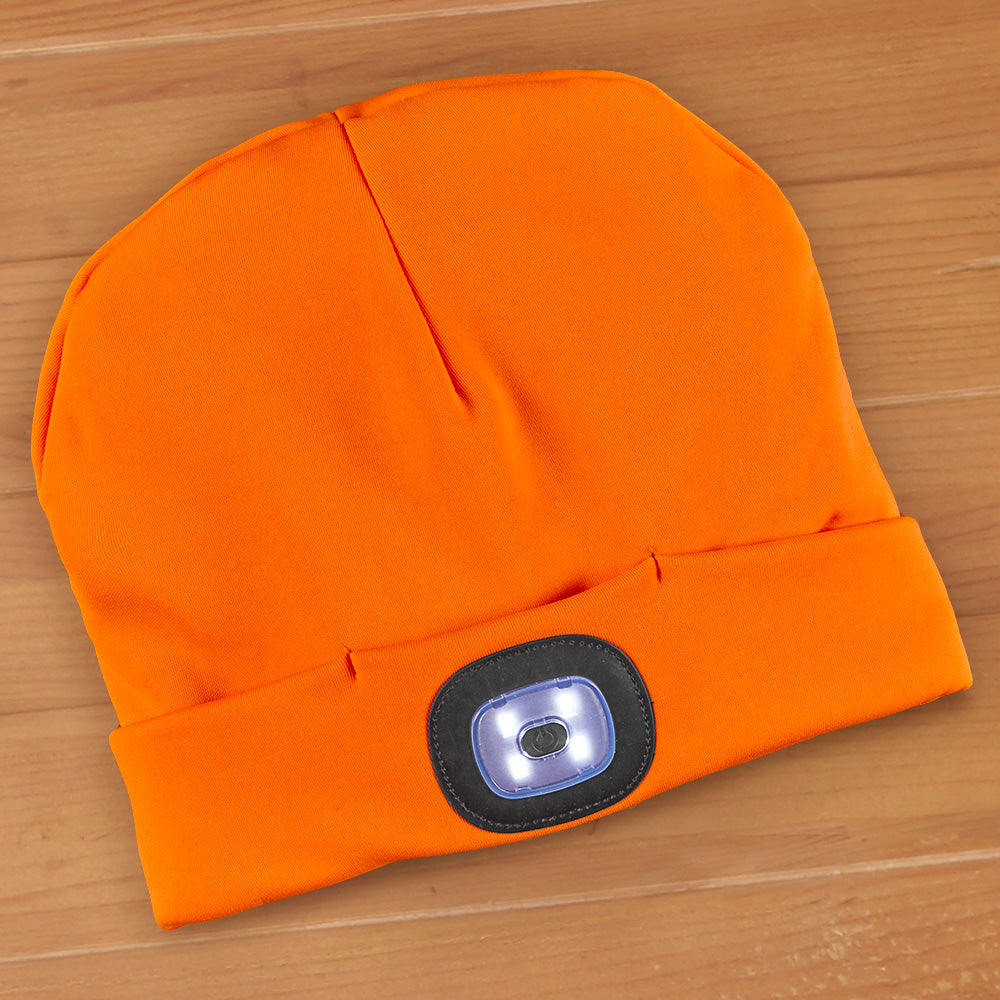 Night Scout Rechargeable LED Light Beanie - Sportsman's Collection
