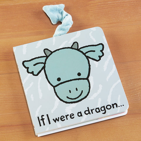 """If I Were a Dragon"" Children's Book by Jellycat"