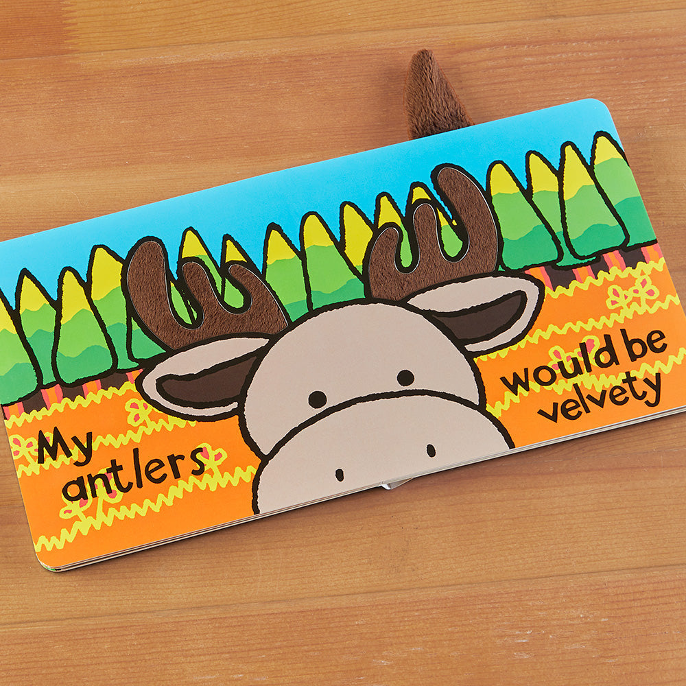 """If I Were a Moose"" Children's Book by Jellycat"