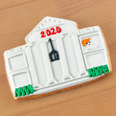 Donald Trump 2020 White House Frosted Sugar Cookie