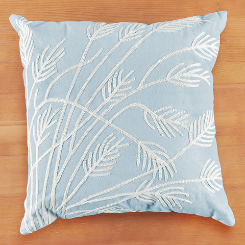 "Chandler 4 Corners 18"" Cotton Pillow, Sea Oats"