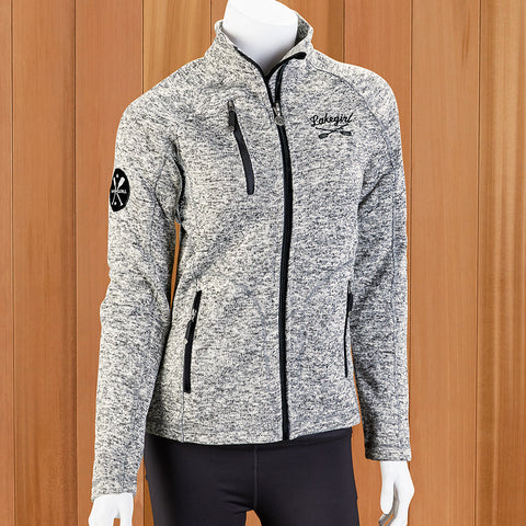 Lakegirl Women's Fleck Fleece Jacket