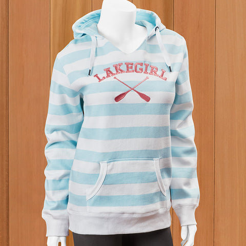 Lakegirl Women's Lakeside Stripe Hoodie