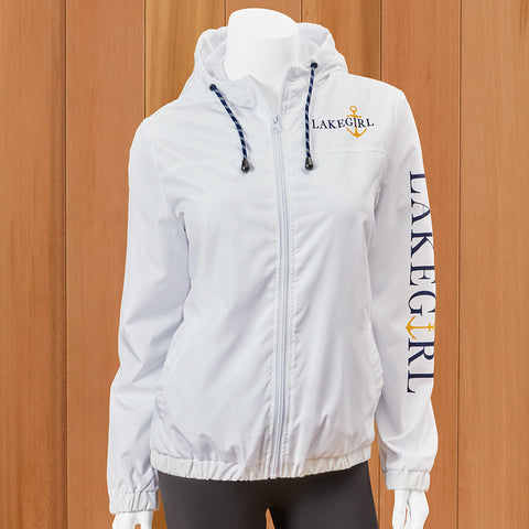Lakegirl Women's Full Zip Windbreaker Jacket