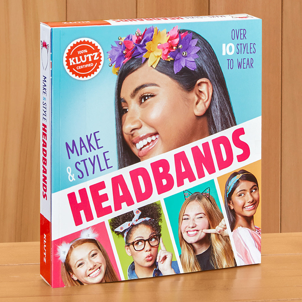 Klutz Make & Style Headbands Craft Kit