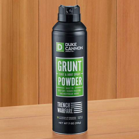 Duke Cannon Grunt Foot and Boot Spray Powder