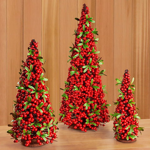 Red Berry Christmas Tree