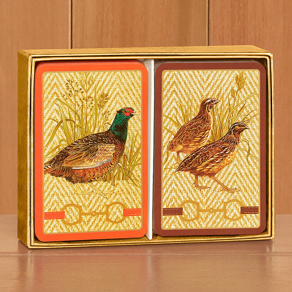 Caspari Playing Cards, Set of 2 - Albemarle Hall