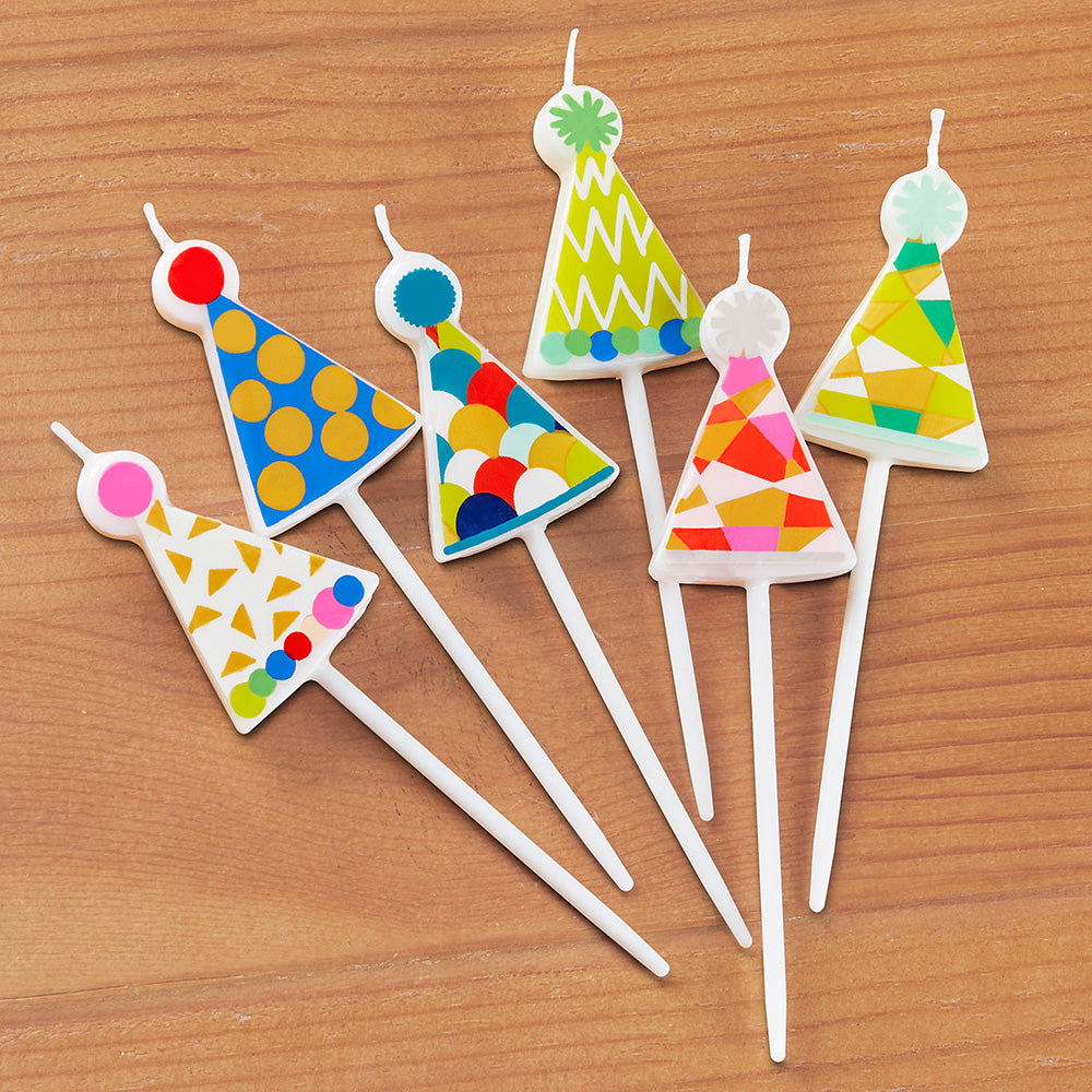 Caspari Party Candles, Party Hats