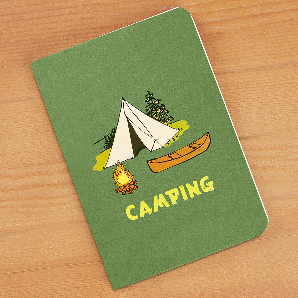 """Camping"" Planning Guide and Journal"