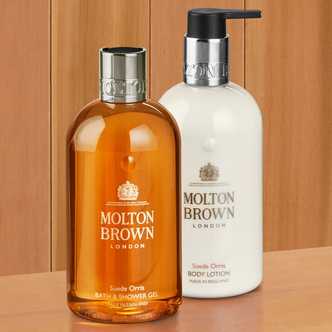 Molton Brown Shower Gel and Body Lotion, Suede Orris