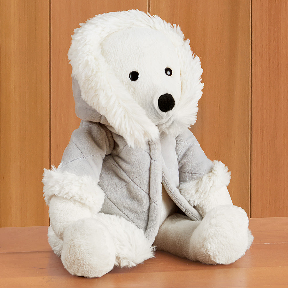 Jellycat Stuffed Animal Plush Toy, Parkie Polar Bear