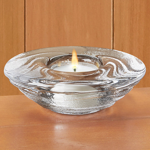 Simon Pearce Thetford Glass Tealight Holder