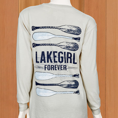 "Lakegirl Women's ""Forever"" Long Sleeve Tee"
