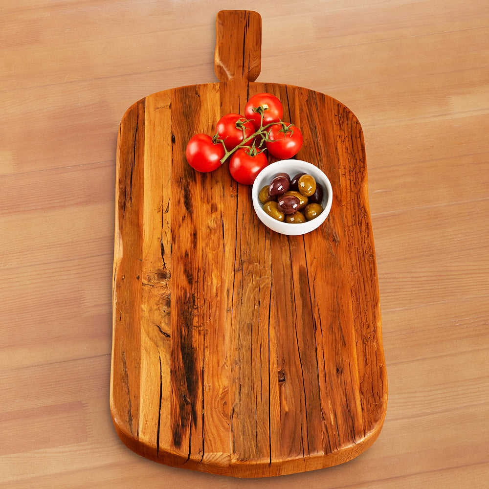 etúHOME Wood Footed Serving Board
