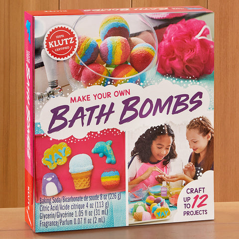 Klutz Make Your Own Bath Bombs Craft Kit