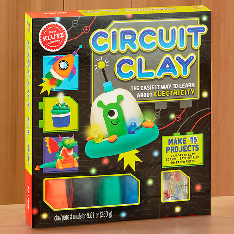 Klutz Circuit Clay Electricity Science Kit