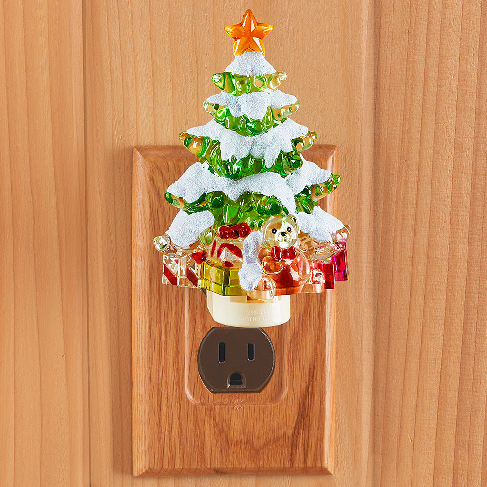Holiday LED Night Light, Christmas Tree