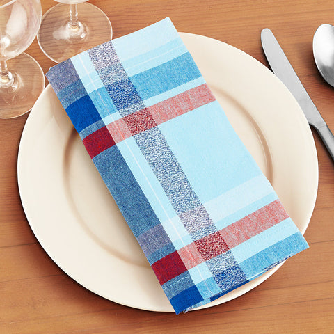 Jackson Cotton Dinner Napkins, Set of 4