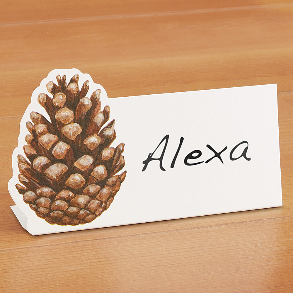 Hester & Cook Place Cards, Pinecone
