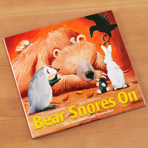 """Bear Snores On"" Children's Book by Karma Wilson"