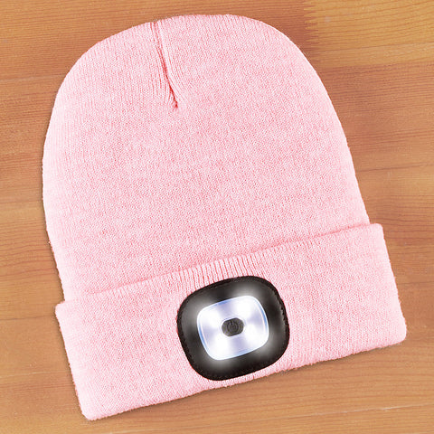 Night Scout Rechargeable LED Light Beanie, Women's Brightside