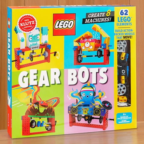 Klutz LEGO® Gear Bots Activity Set