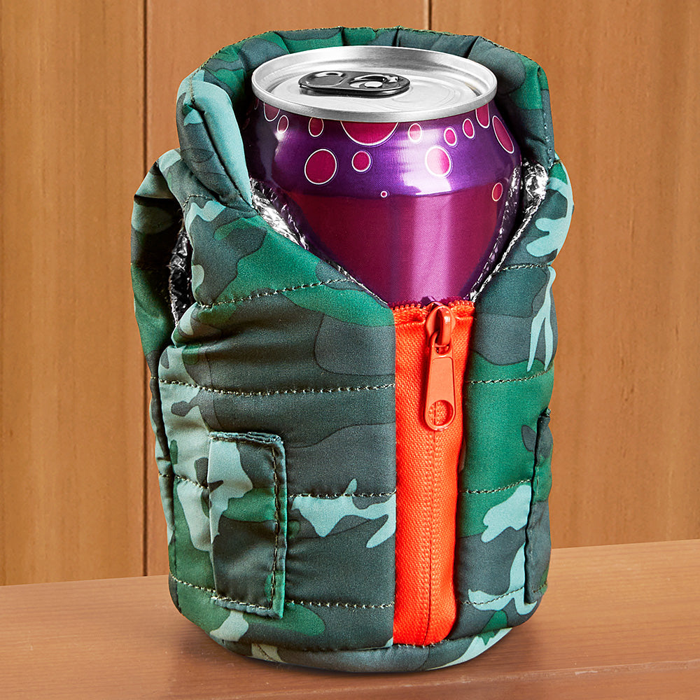 Puffin Insulated Vest Can Koozie