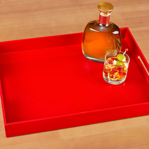 Albert L Lacquer Serving Tray
