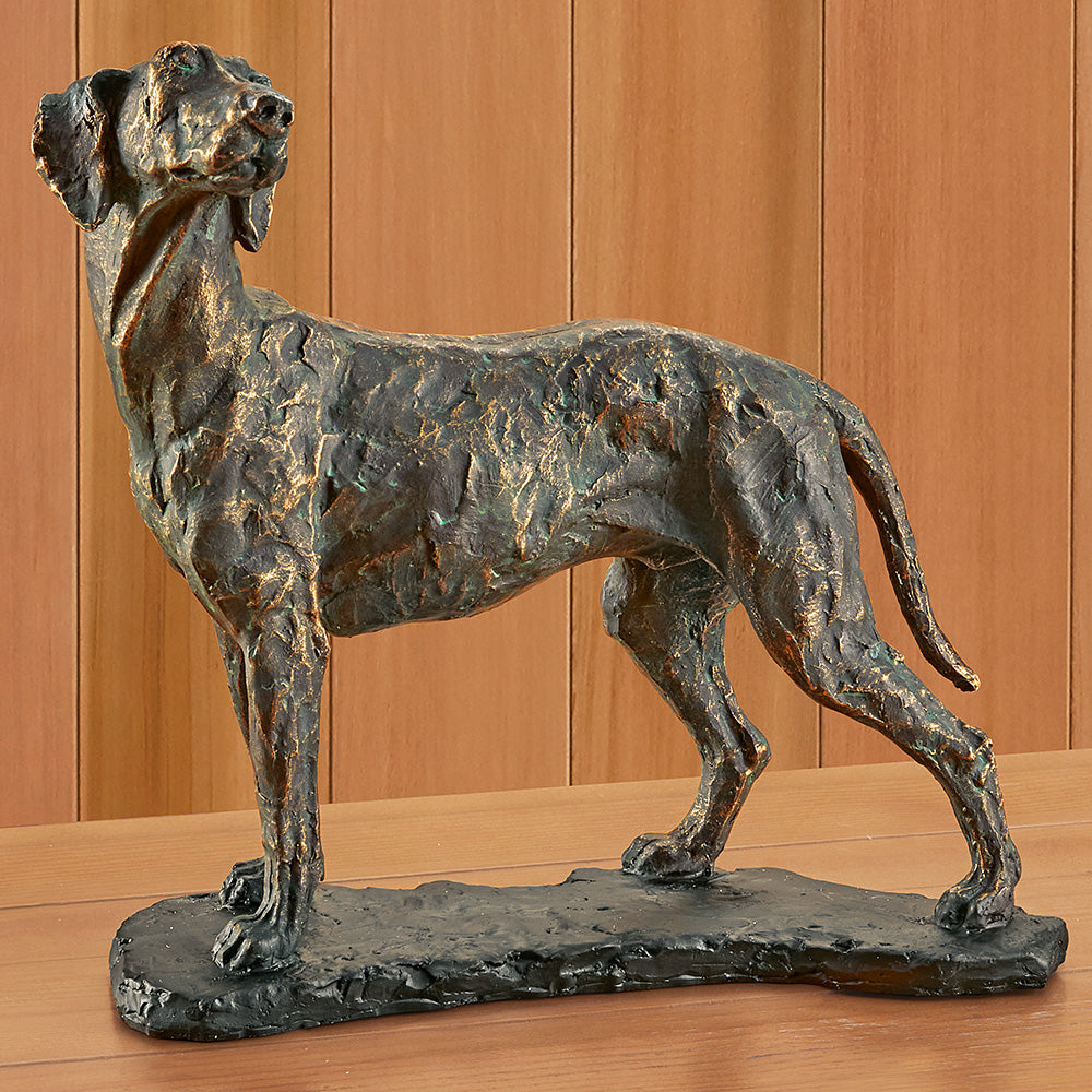 Resin Dog Figurine