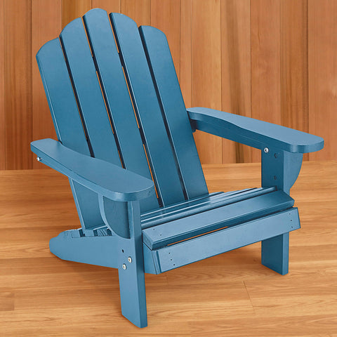 Kids' Adirondack Chair, Blue