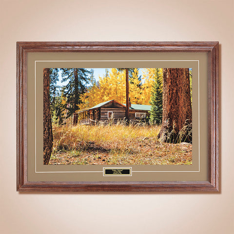 """Autumn Gold"" Scenic Print by Drake Fleege"