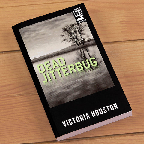 """Dead Jitterbug"" Mystery Novel by Victoria Houston"