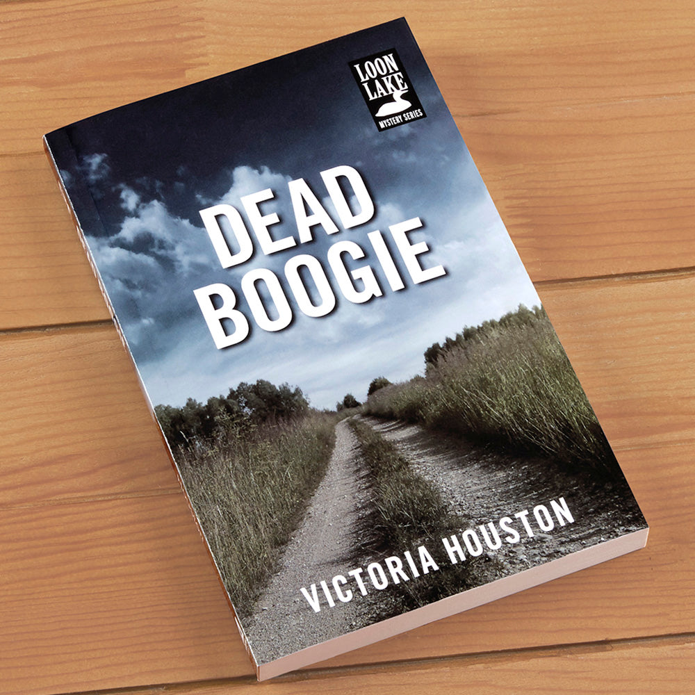 """Dead Boogie"" Mystery Novel by Victoria Houston"