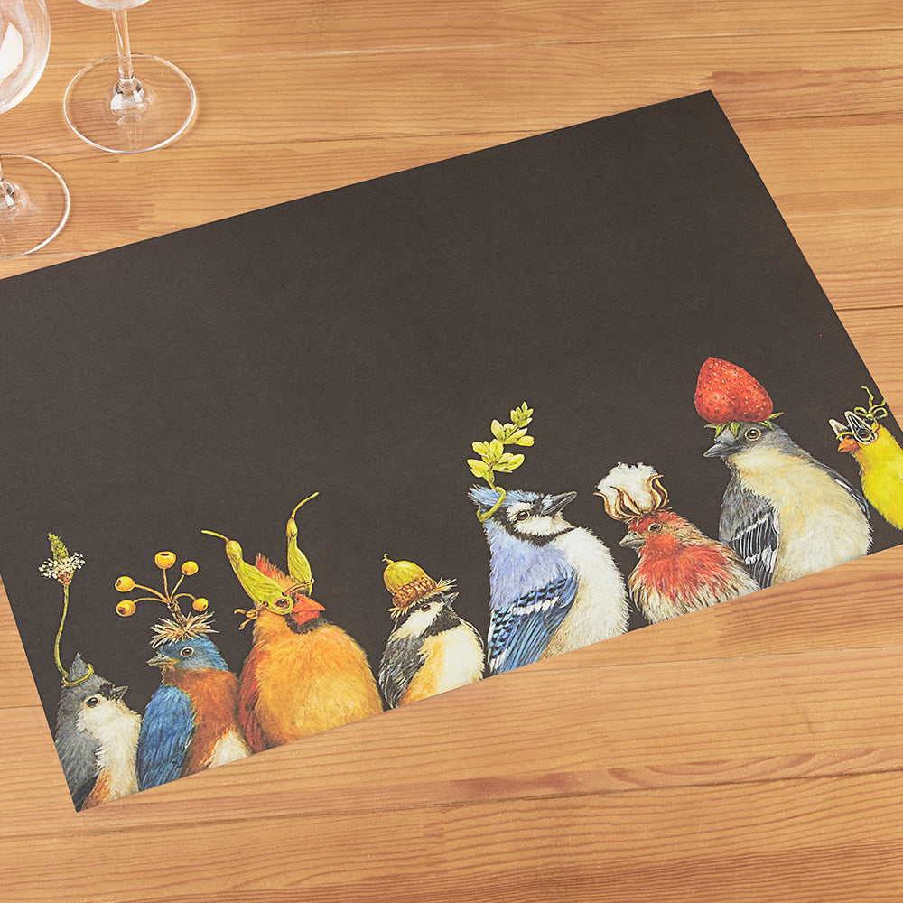 Hester & Cook Paper Placemats, Backyard Party