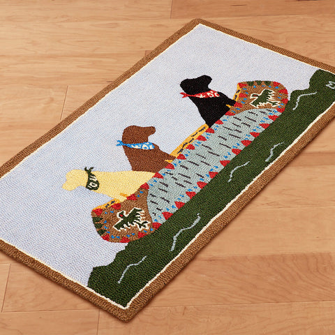 White Water Labs Chandler 4 Corners Rug 2 x 4 feet