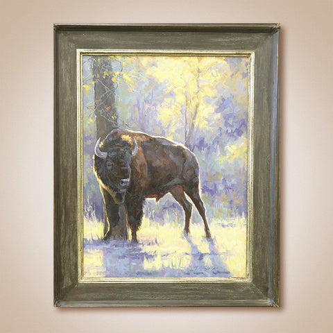 """Early Morning Scratch"" Original Oil Painting by Tiffany Stevenson"