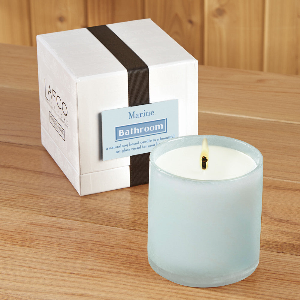 Lafco Candle Bathroom Marine 15 5 Oz And 30 Oz To The Nines Manitowish Waters