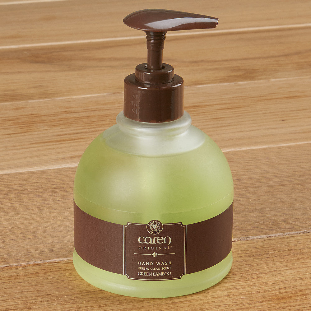 Caren Original Hand Wash Liquid Soap, Green Bamboo