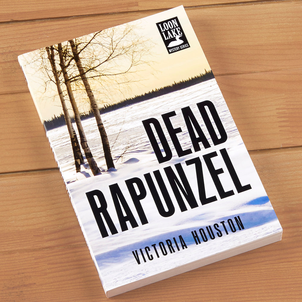 """Dead Rapunzel"" Mystery Novel by Victoria Houston"