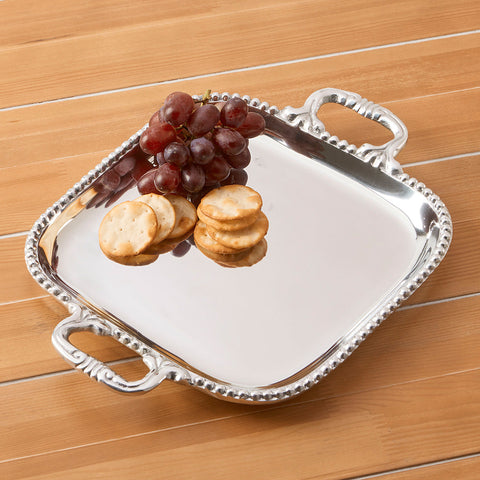 Pearl David Square Tray by Beatriz Ball