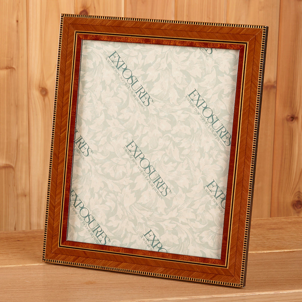 Wood Inlay Marquetry Picture Frame - Aldo