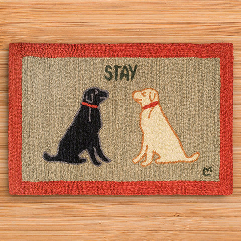 Chandler 4 Corners 2' x 3' Hooked Rug, Stay