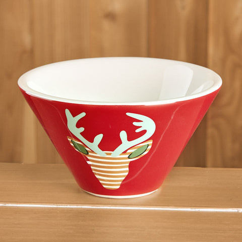 Dolomite Reindeer Small Bowl