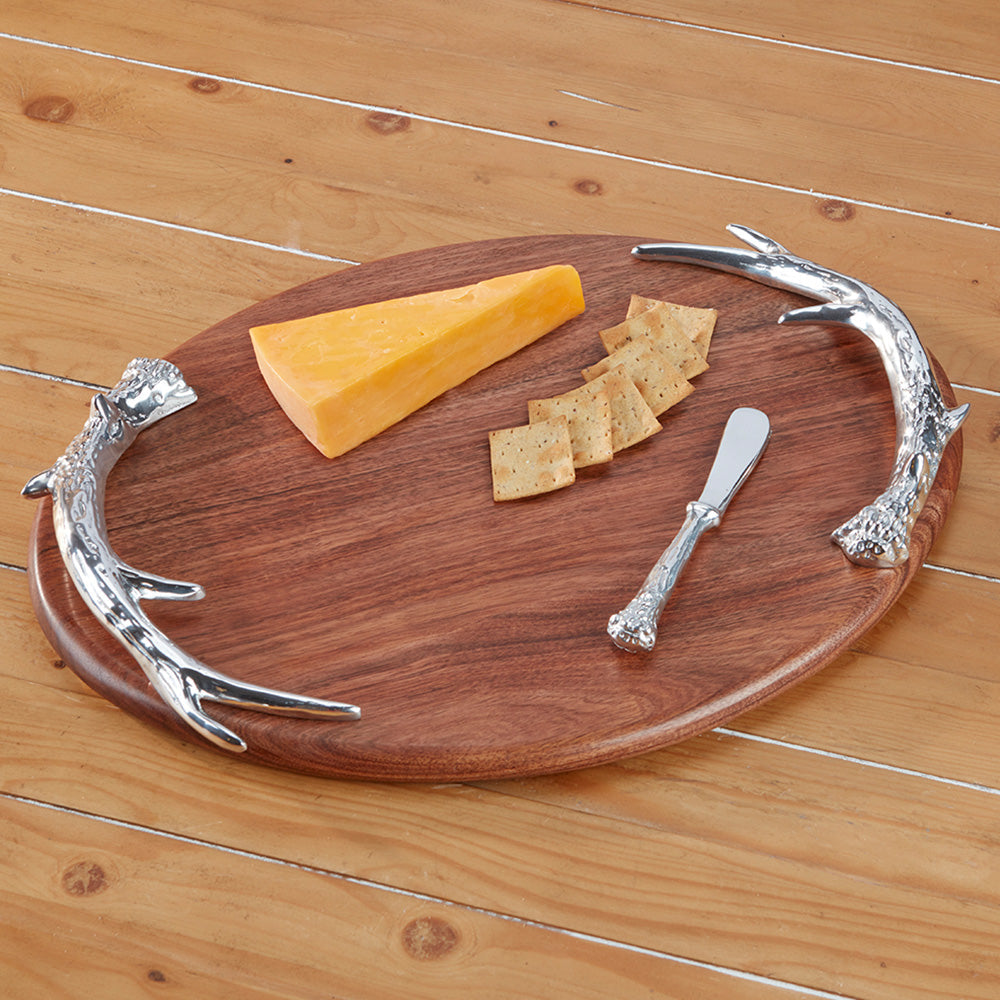 Beatriz Ball Western Antler Oval Cutting Board - Large